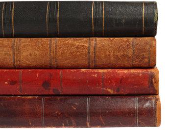 Papierläuse sind oft in alten Büchern.