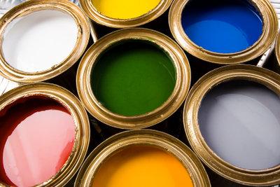 Metallschutz gibt's in vielen Farben.