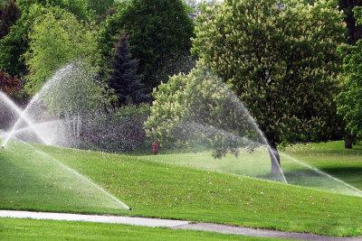 Sparen Sie bei der Gartenbewässerung.
