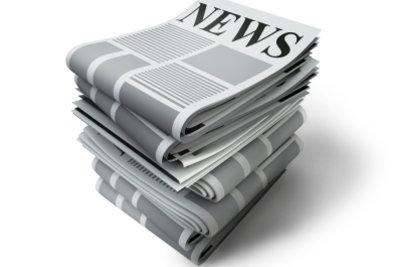 Zeitungen informieren über viele Dinge.