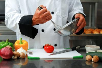 Vorbereitung für die Feldküchenrezepte.