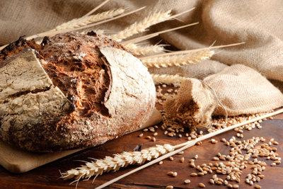 Schweizer Brot ist aus Ruchmehl.