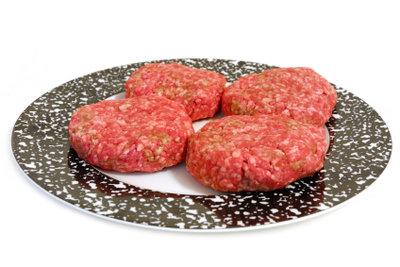 Burger-Frikadellen sind schnell gemacht!