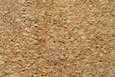 Kork ist ein sehr angenehmes Material.