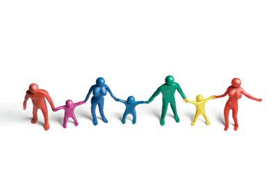 Teilen Sie Freunde in Gruppen ein.