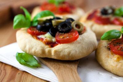 Mini-Pizzas: eine leckere, gesellige Alternative.