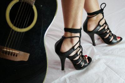 Rockmusiker geben sich gern wild.