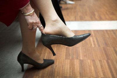 Der falsche Schuh kann Blasen machen.