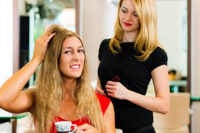 Ein Businessplan für Friseure ist kompliziert.