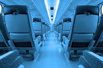 Moderne Züge bieten viel Komfort.