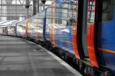 Züge sind nicht immer leer.
