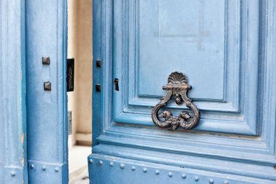Tür oder Bogen - beides hat Vorteile.