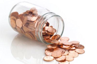 Kleingeld können Sie aufs Konto einzahlen.