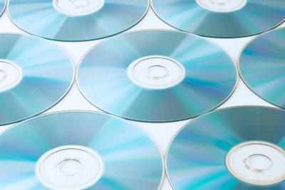 So sieht eine saubere DVD aus.