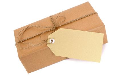 Auch Päckchen können versichert werden.