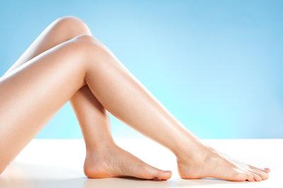 Der Traum jeder Frau - glatte Beine.