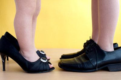 Passende Schuhe sind wichtig.