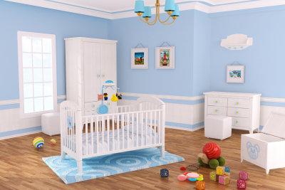 Silikatfarbe ist gut für Kinderzimmer.