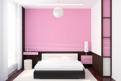 Das Schlafzimmer sollte gemütlich eingerichtet sein.