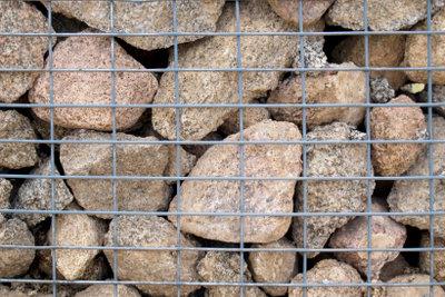 Entscheiden Sie, welche Steinsorte Sie verwenden.