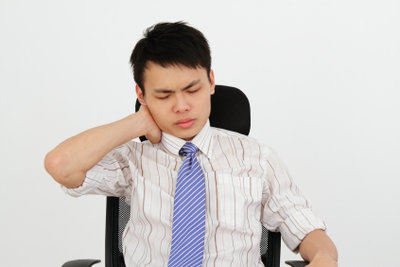 Bekämpfen Sie Ihre Nackenschmerzen.