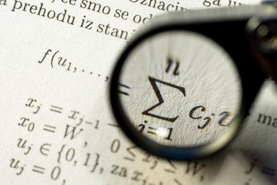Bei Formeln müssen Zahlen tiefgestellt werden.