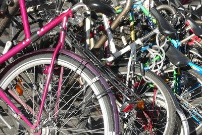 Ein gutes Fahrradschloss schützt Ihr Fahrrad.