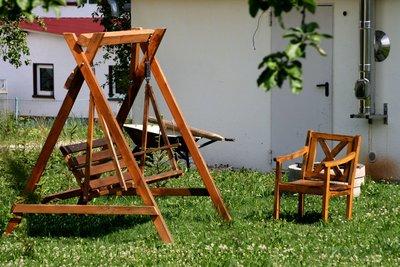 Eine Hollywoodschaukel aus Holz selber bauen