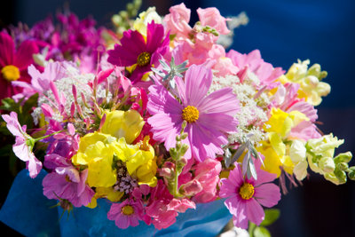 Lassen Sie Blumen sprechen.