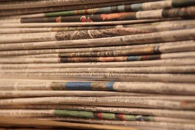 Auch Kinder dürfen Zeitungen austragen.