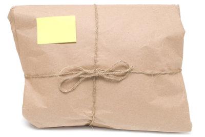 Nur Pakete sind versichert.