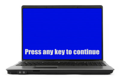 So beheben Sie einen blauen Bildschirm.
