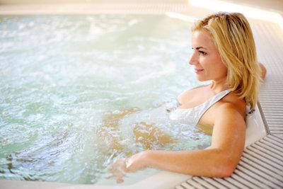Ein Whirlpool garantiert Entspannung pur.