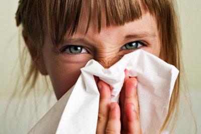 Eine tropfende Nase ist lästig.