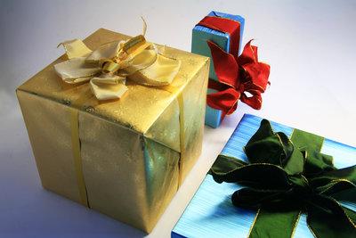 Auch Geschenkpakete sollten ankommen.