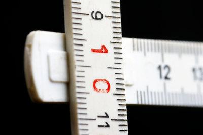 Höhe und Breite sind meistens genormt.