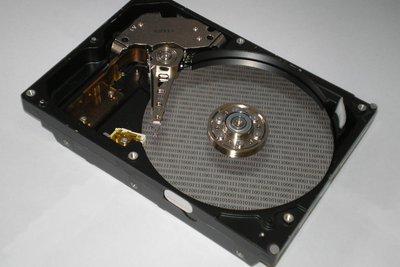 Man kann die Festplatte retten.