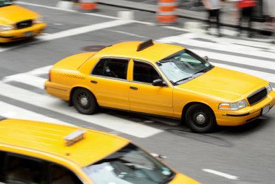 Das Rufen eines Taxis geht einfach.