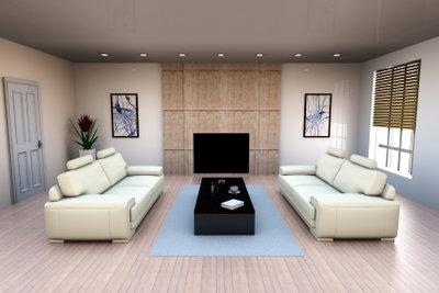 Gestalten Sie Ihr Wohnzimmer harmonisch.
