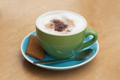 Ein leckerer Cappuccino schmeckt immer.