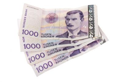 Norwegische Kronen als Zahlungsmittel und Anlageform.