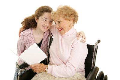 Die Enkelin trotz Scheidung nicht verlieren.