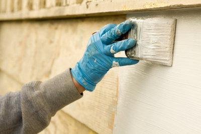 Zementfarbe ist ein interessantes Naturprodukt.