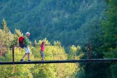 Wandertouren ohne Eltern - aber mit Reisevollmacht.