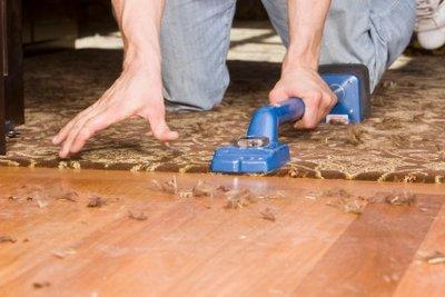 Kantenschutz für Teppich ist sehr wichtig.