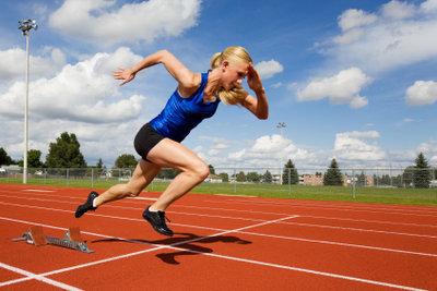 Explosivität und Kraft entscheiden das Rennen.