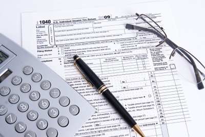 Die Steuererklärung ist umfangreich.