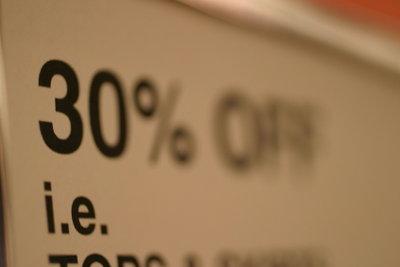 Marktsättigung führt oft zu Preisnachlässen.