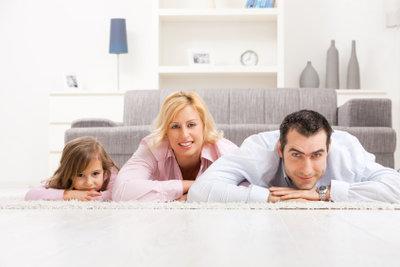 Teppichböden erhöhen die Wohnqualität.