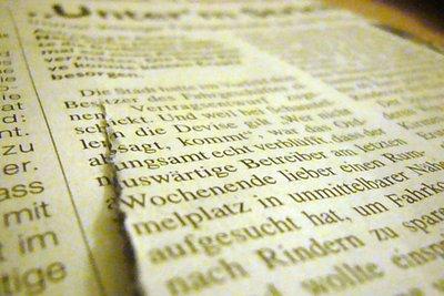 Fassen Sie einen Zeitungsartikel systematisch zusammen.